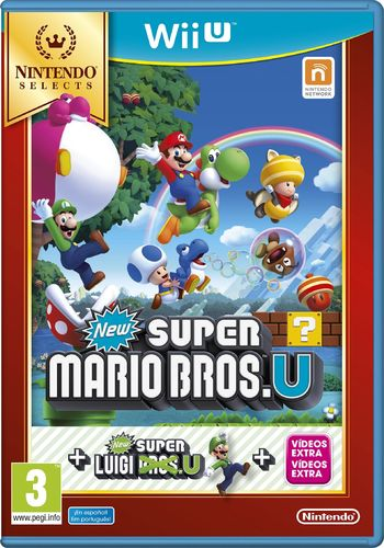 New Super Mario Bros U WiiU