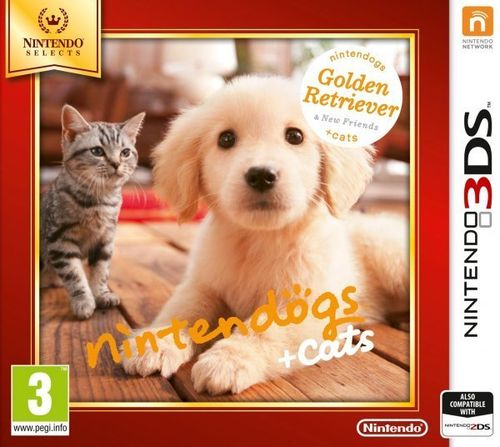 Nintendogs + Cats Retriever 3Ds