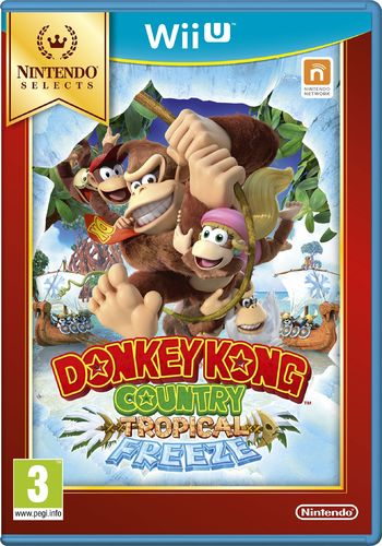 Donkey Kong Country Tropical Freeze WiiU