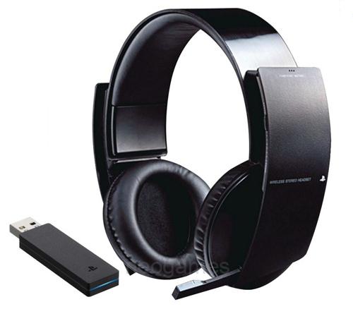 headset oficial sony ps3 ps4 wireless 7 1 surround. Black Bedroom Furniture Sets. Home Design Ideas