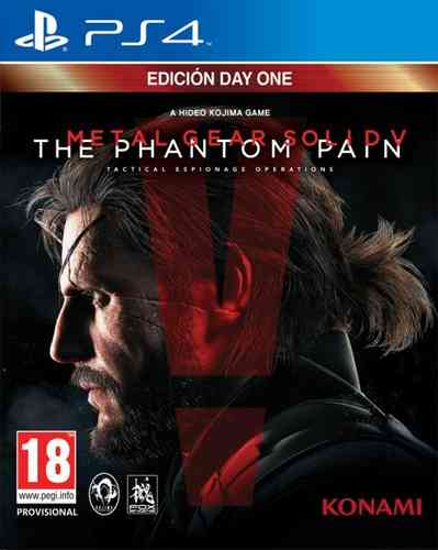 Metal Gear Solid V: Phantom Pain Day One Edition Ps4