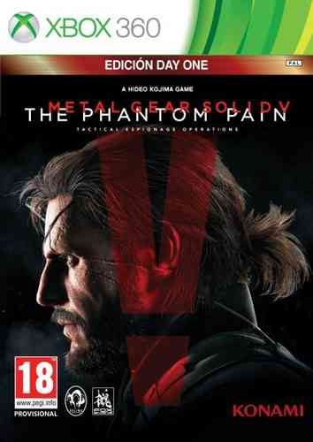 Metal Gear Solid V: Phantom Pain Day One Edition Xbox360