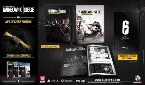 Rainbow Six: Siege Art of Siege Edition Ps4