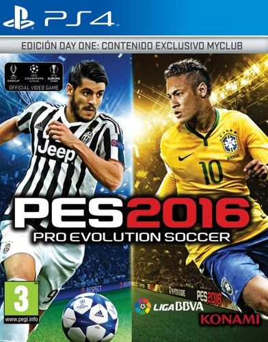 Pro Evolution Soccer 2016 Day One Edition Ps4