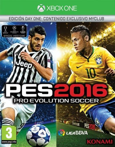Pro Evolution Soccer 2016 Day One Edition XboxOne