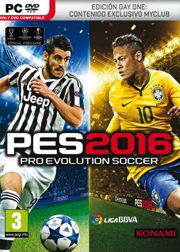 Pro Evolution Soccer 2016 Day One Edition Pc