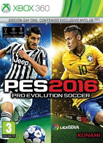 Pro Evolution Soccer 2016 Day One Edition Xbox360
