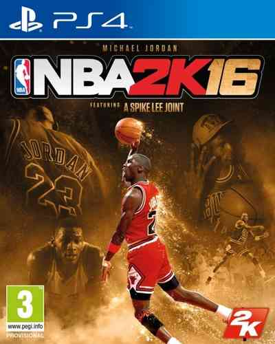 NBA 2K16 Edicion Michael Jordan Ps4