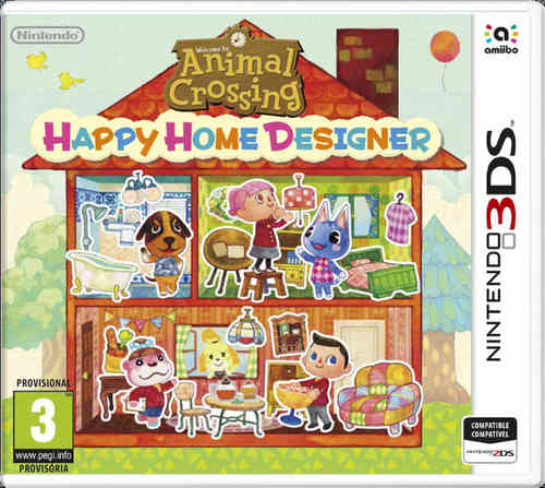 Animal Crossing: Happy Home Designer + 1 tarjeta amiibo 3Ds