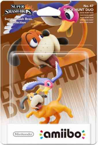 Figura Amiibo Duo Duck Hunt (Serie Super Smash Bros.)