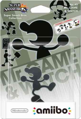 Figura Amiibo Game & Watch (Serie Super Smash Bros.)