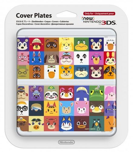 New Nintendo 3DS Cubierta Animal Crossing: Happy Home Designer