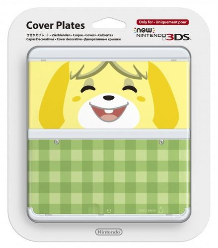 New Nintendo 3DS Cubierta Animal Crossing: New Leaf Canela