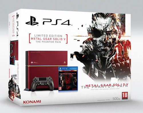 PS4 Consola Edición Limitada + Metal Gear Solid V: Phantom Pain