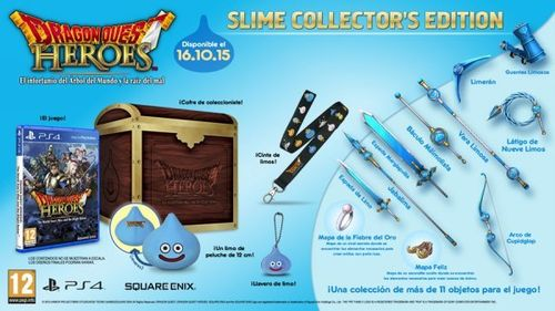 Dragon Quest: Heroes Edicion Coleccionista Ps4