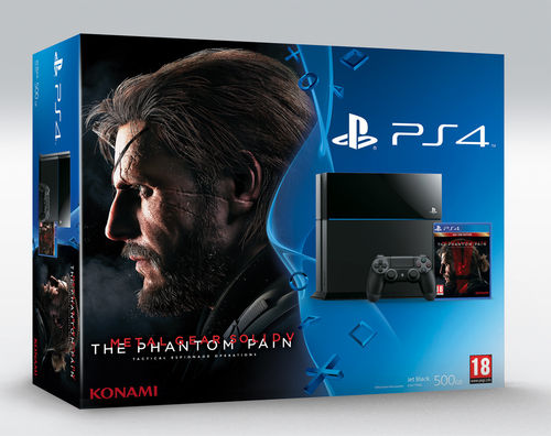 PS4 Consola 500GB + Metal Gear Solid V: Phantom Pain