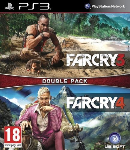 Compilacion Far Cry 3 + Far Cry 4 Ps3