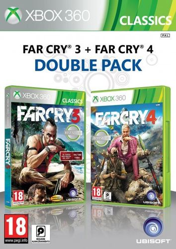 Compilacion Far Cry 3 + Far Cry 4 Xbox360