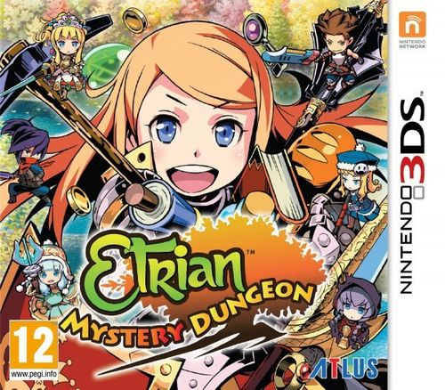 Etrian Mystery Dungeon 3Ds