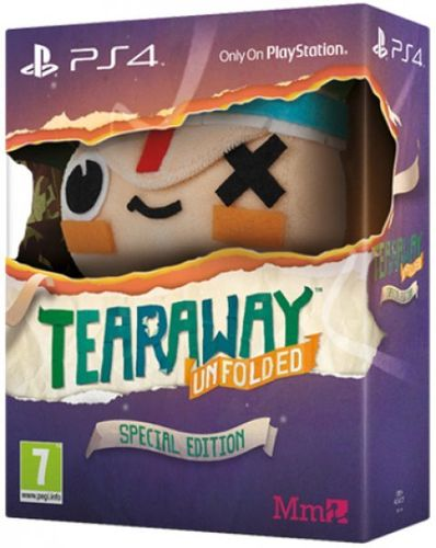 Tearaway Unfolded Edicion Especial Ps4