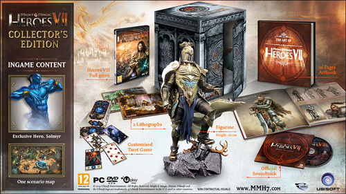 Heroes of Might & Magic VII Edicion Coleccionista Pc
