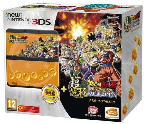 New Nintendo 3DS Negro + Dragon Ball Z: Extreme Butoden