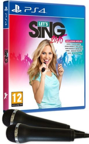 Lets Sing 2016 + Microfonos Ps4