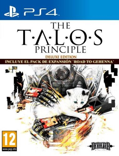 The Talos Principle Deluxe Edition Ps4