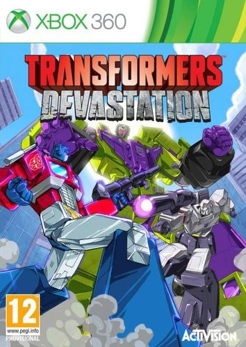 Transformers Devastation Xbox360