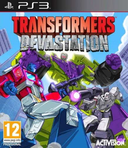 Transformers Devastation Ps3