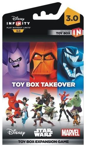 Disney Infinity 3.0 Toy Box Expansion Game Takeover