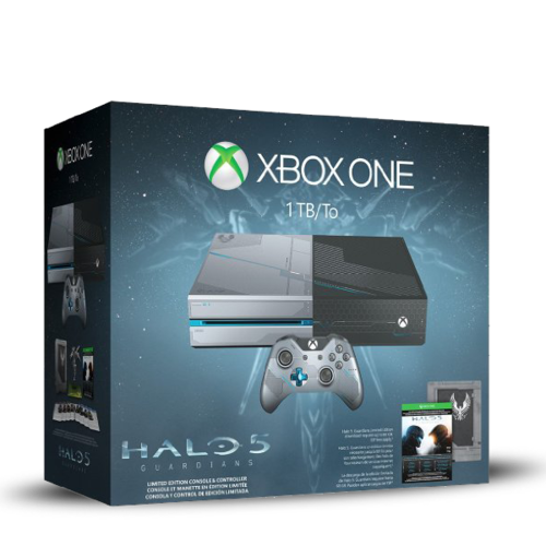 Xbox One Consola 1TB Limitada + Halo 5