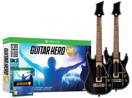 Guitar Hero Live + 2 Guitarras Wireless XboxOne