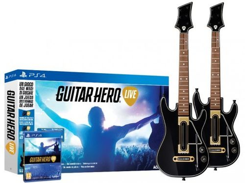 Guitar Hero Live + 2 Guitarras Wireless Ps4