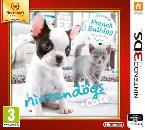 Nintendogs + Cats Bulldog Frances 3Ds