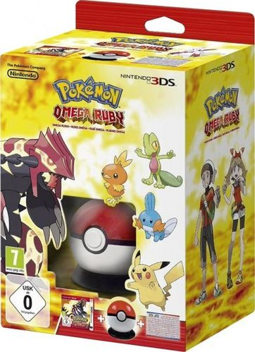 Pokemon Rubi Omega Starter Box 3Ds