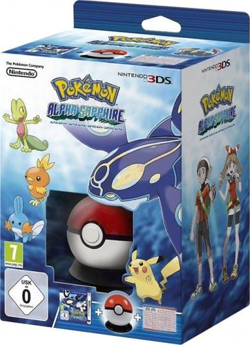 Pokemon Zafiro Alfa Starter Box 3Ds