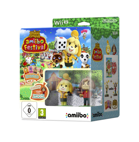 Animal Crossing: Amiibo Festival Pack Limitada WiiU