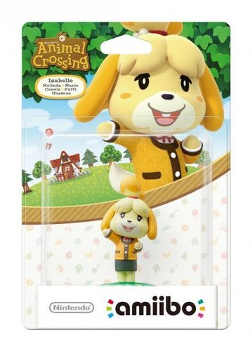 Figura Amiibo Canela (Serie Animal Crossing)