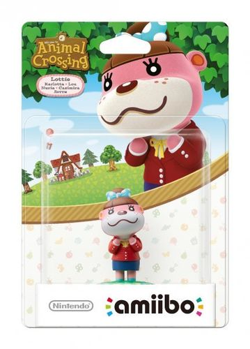 Figura Amiibo Nuria (Serie Animal Crossing)
