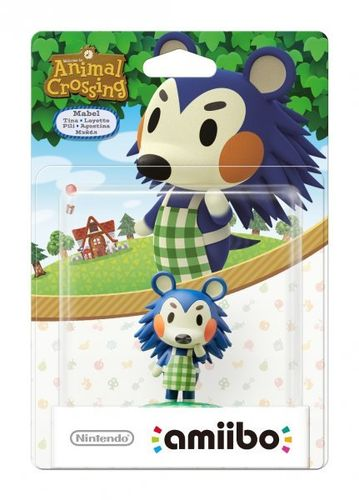 Figura Amiibo Pili (Serie Animal Crossing)