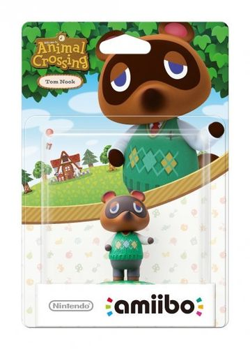 Figura Amiibo Tom Nook (Serie Animal Crossing)