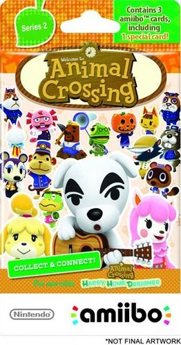 Pack 3 Tarjetas amiibo Animal Crossing Serie 2