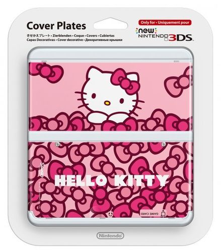 New Nintendo 3DS Cubierta Hello Kitty