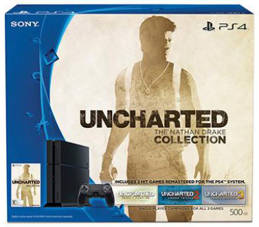 PS4 Consola 500Gb + Uncharted: The Nathan Drake Collection