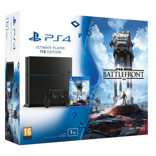 PS4 Consola 1TB + Star Wars: Battlefront