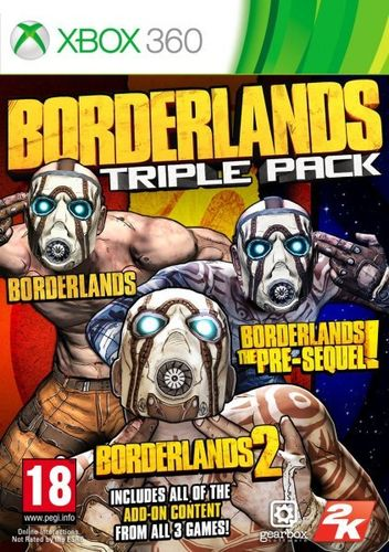 Borderlands Triple Pack Xbox360