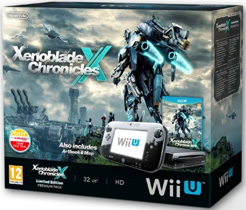 Wii U Consola Xenoblade Chronicles X Premium Pack