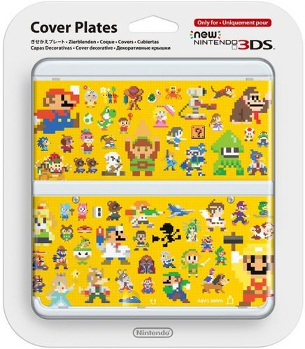 New Nintendo 3DS Cubierta Mario Maker