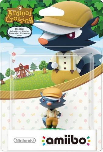 Figura Amiibo Betunio (Serie Animal Crossing)